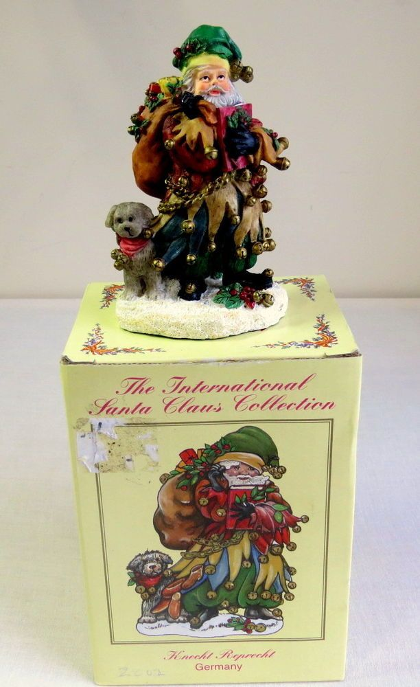The International Santa Claus Collection - Krecht Reprecht Germany,SC50, 2001