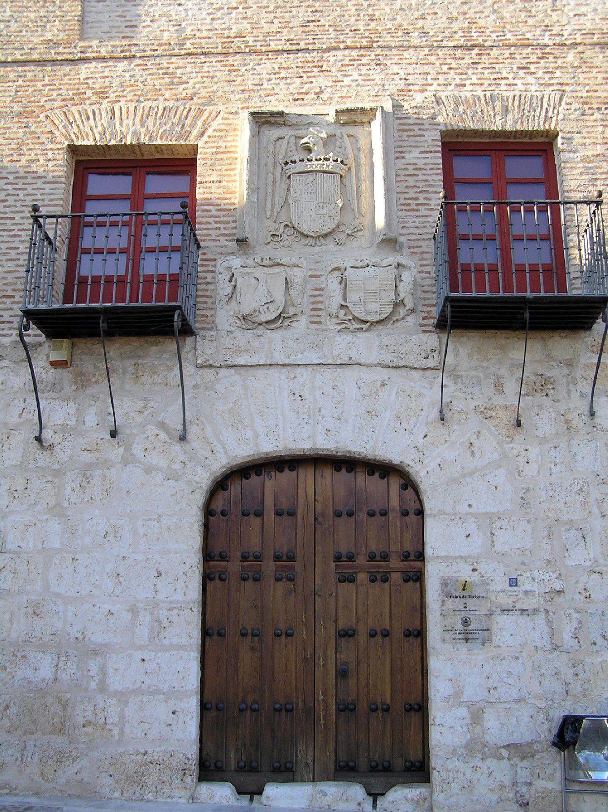 Palacio de la Contratación, Tordesillas, Valladolid, Spain ...