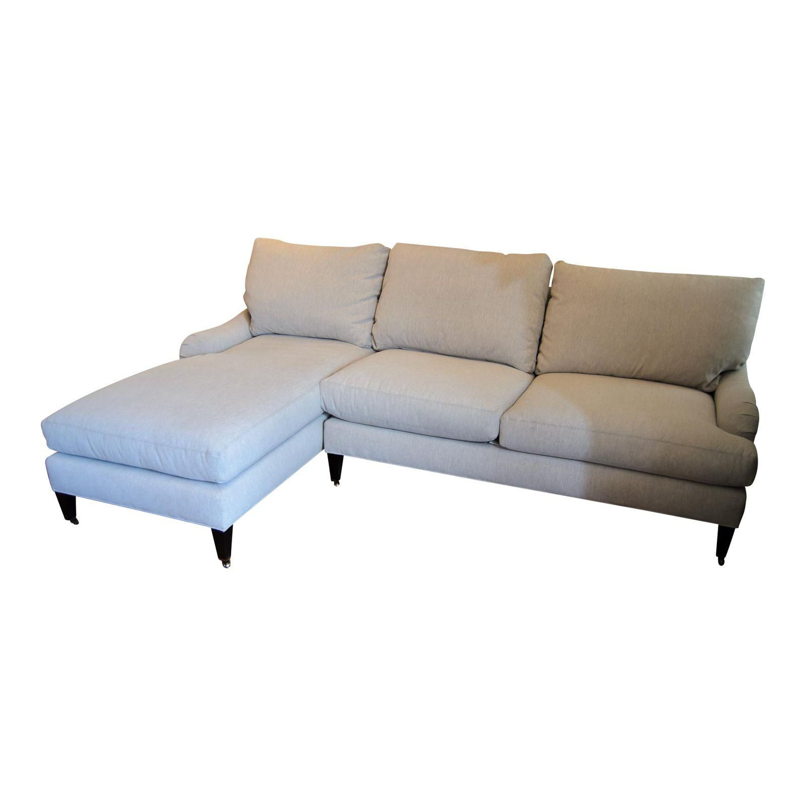 Attractive Lee Industries Contemporary Gray Sectional