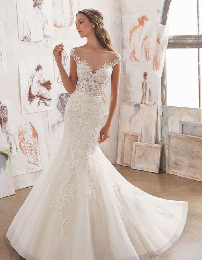 Here Is A Collection Of The Best Off Shoulder Wedding Dresses That Will Make Him