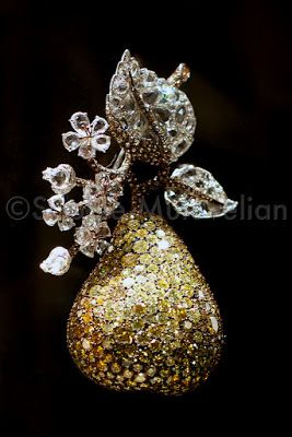 William Pear brooch by Michelle Ong