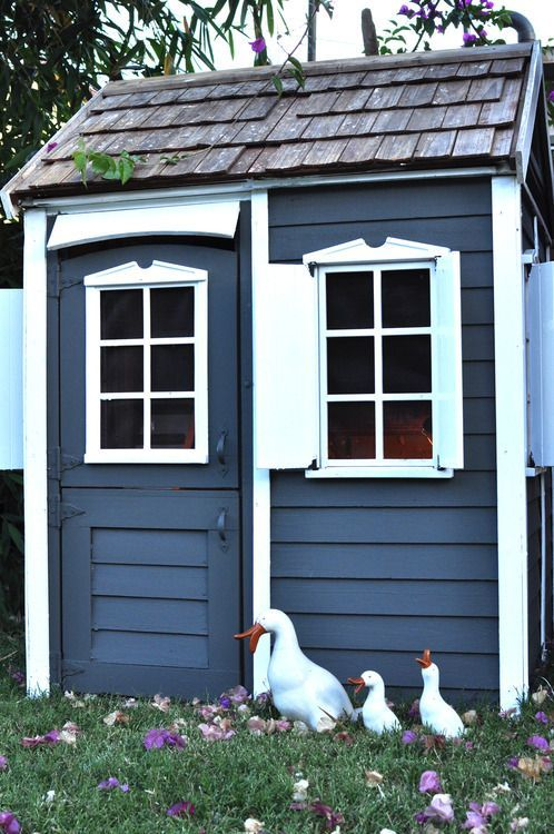 Chicken Coop Color Schemes Recherche Google Chicken Shed Chicken Coop Decor Blue Shed
