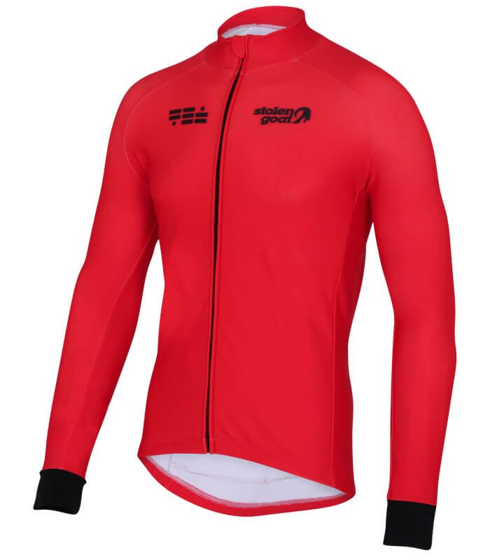 orkaan everyday jersey ls red front XL