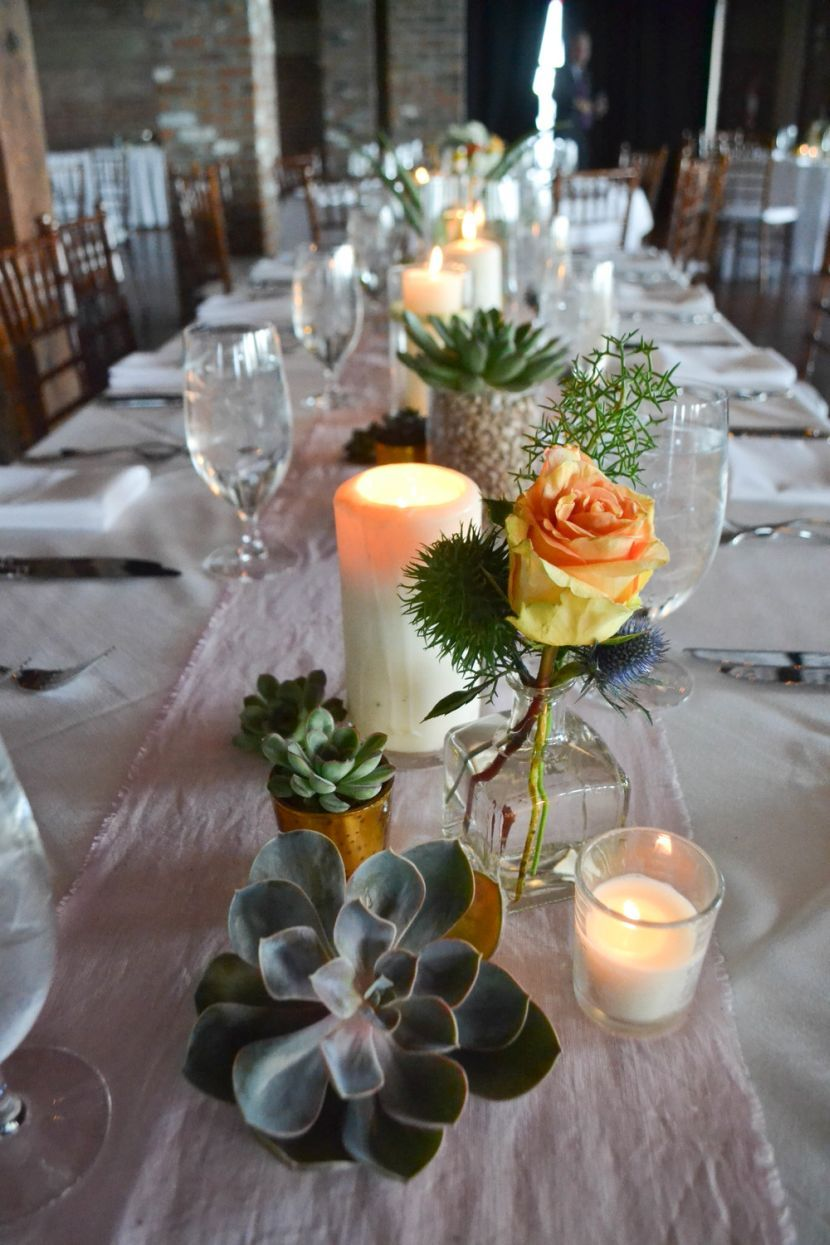 33 Innovative Wedding Themes For Summer Succulent Wedding Table