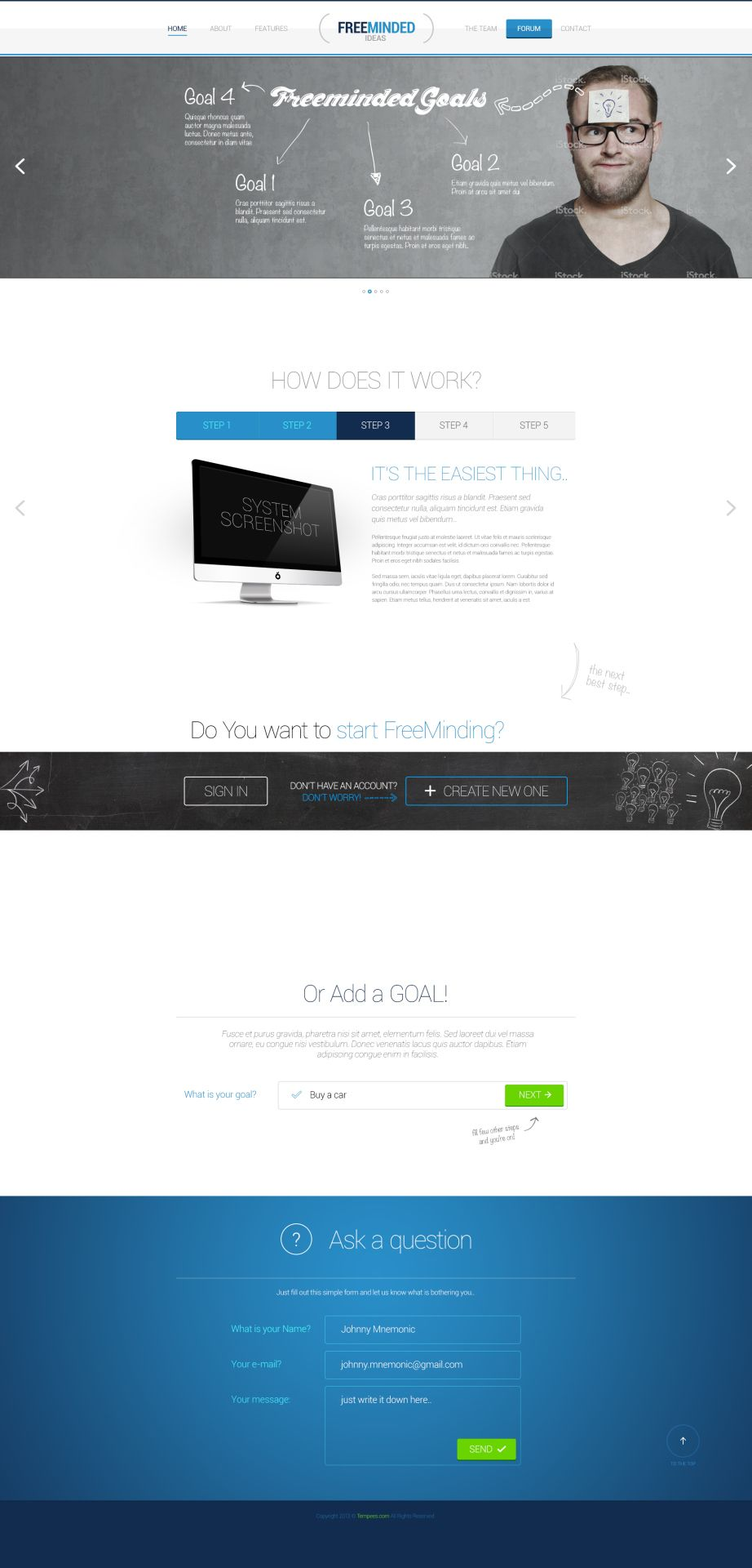 Free Bootstrap Style PSD Template | Free psd template webdesign ...