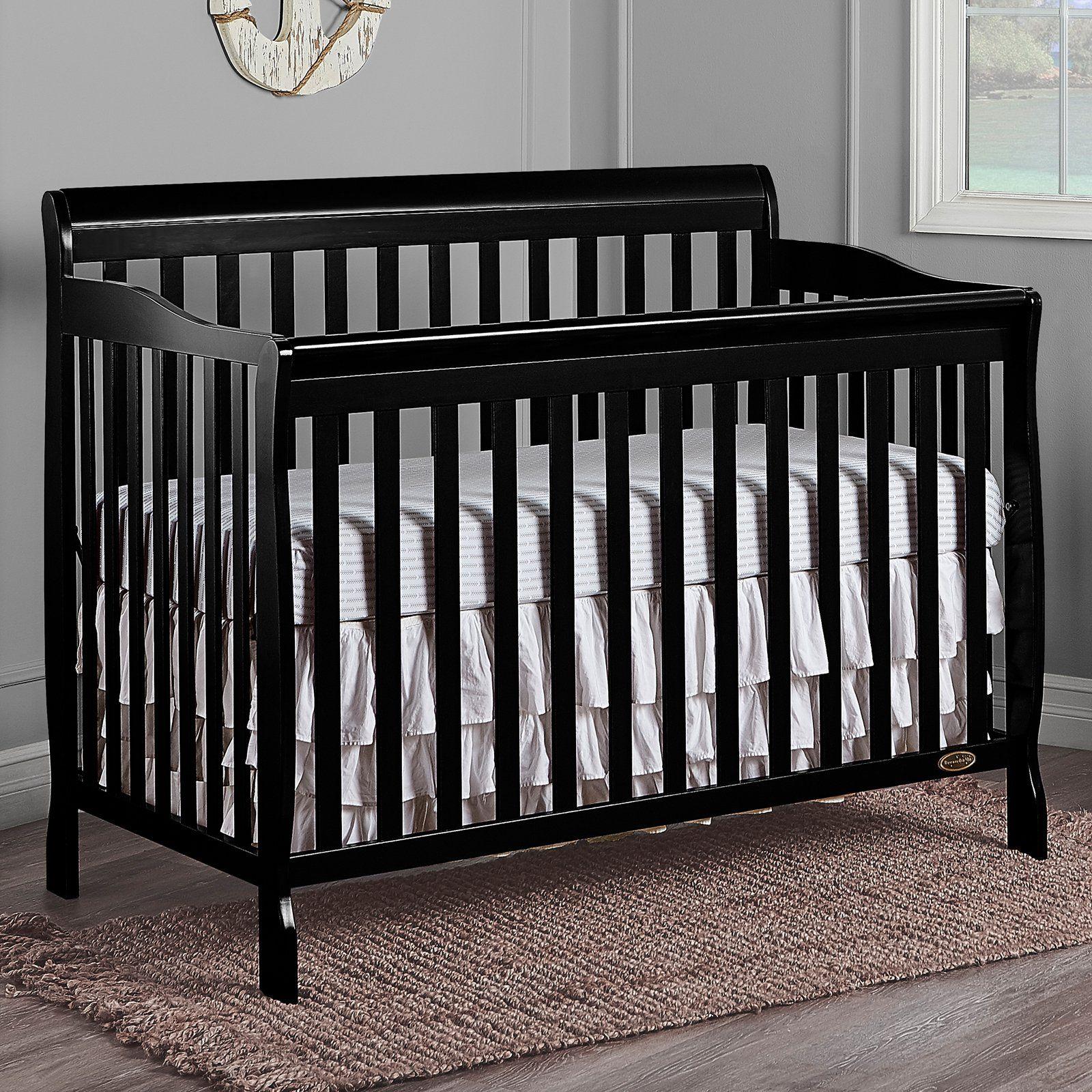 Dream On Me Ashton 5 In 1 Convertible Crib Convertible Crib Cribs Mattress Furniture