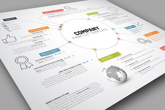 Company Profile Template Company profile, Template and