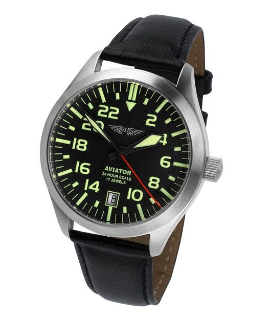 Aviator - CADRAN 24-ORE - AVIATOR - Ceasuri   Watches   Watches ... 49a86137098