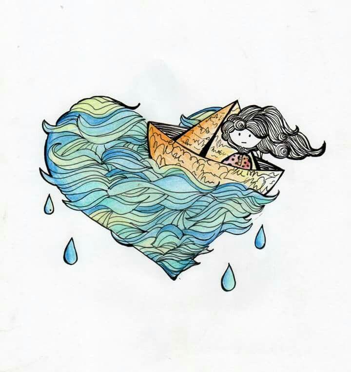 Como si tu corazón fuera de agua