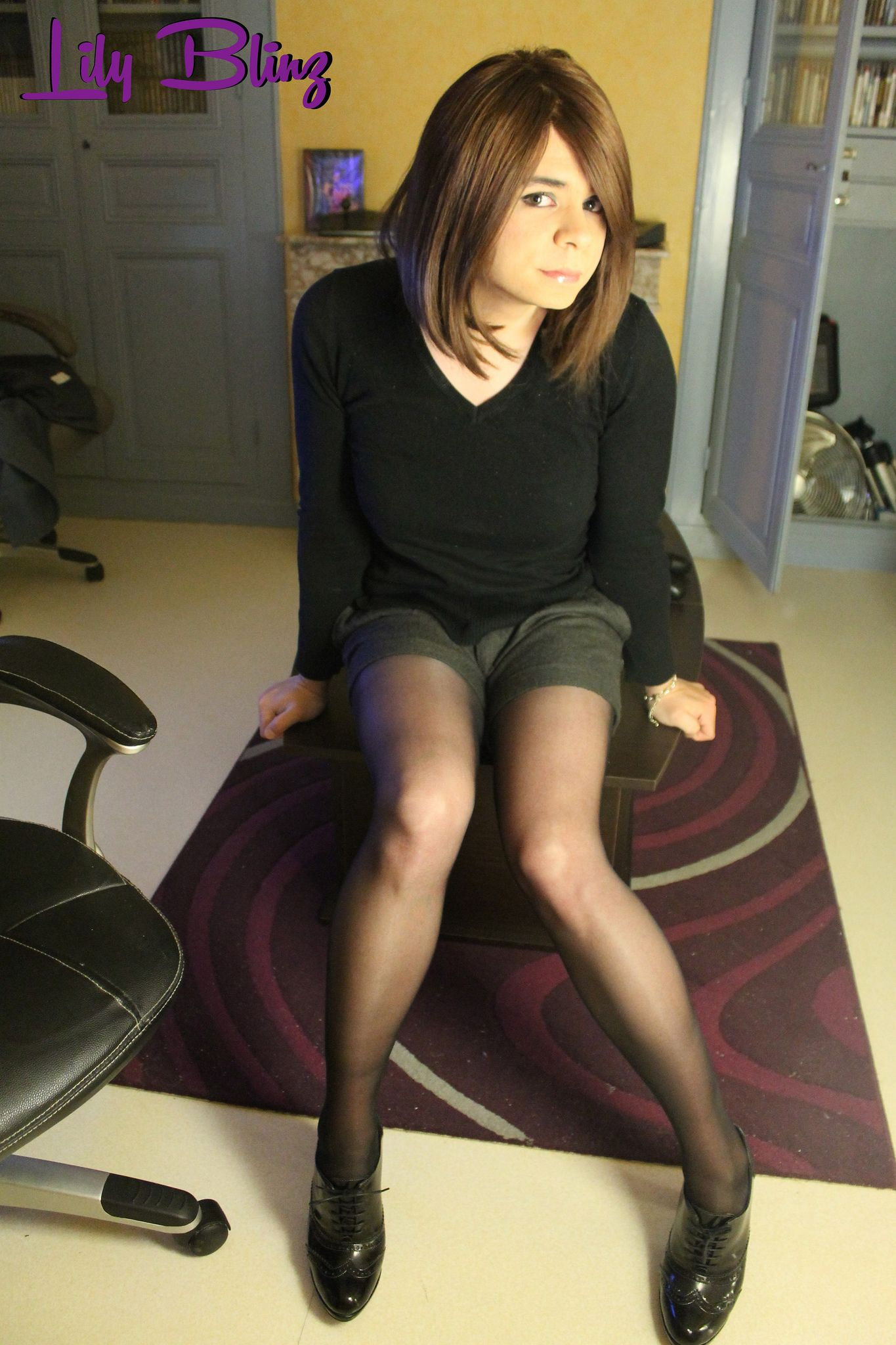 from Santino free transgender in nylons pics