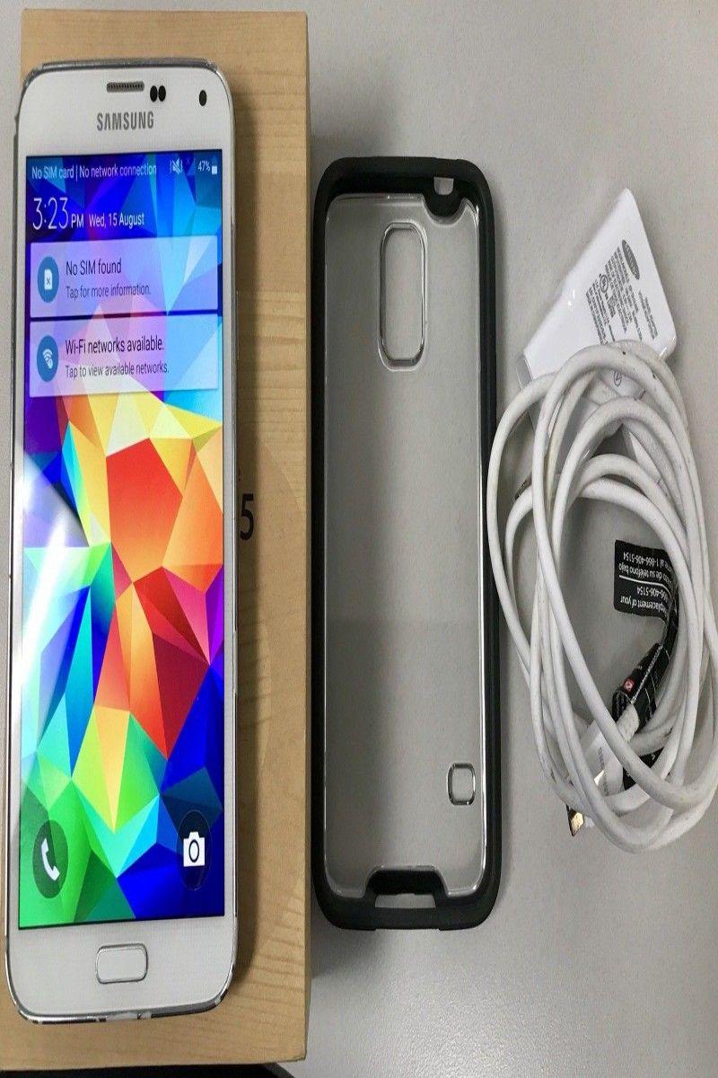 91 99 | Samsung Galaxy S5 SM-G900V 16 GB - White - Verizon Android