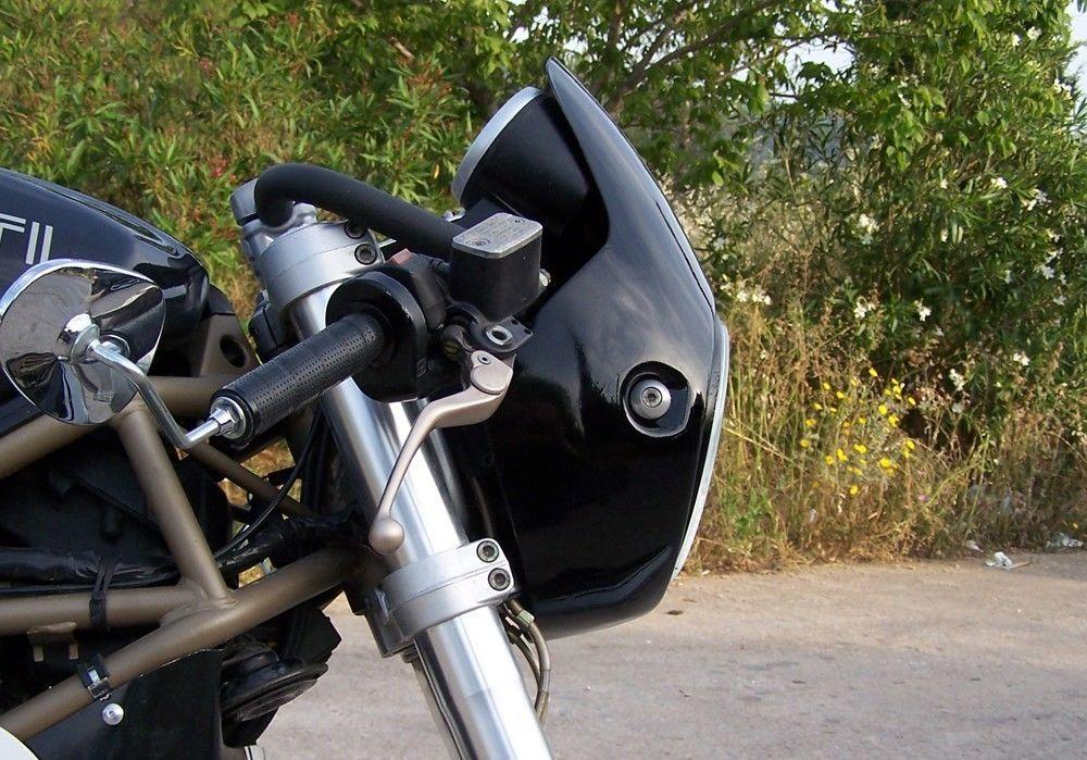 Ducati Monster Cafe-Racer kit | Cafe racer kits, Ducati monster and