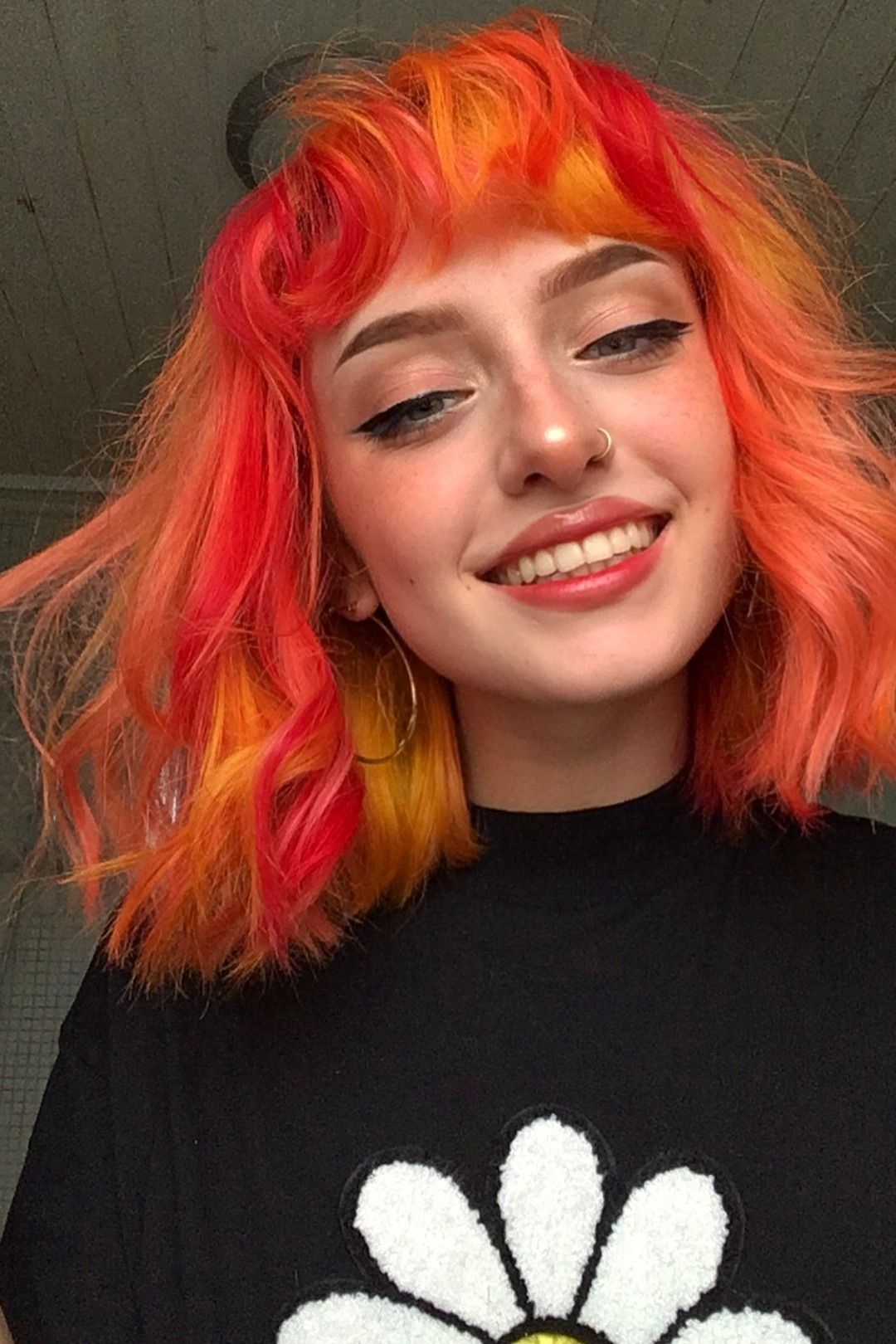 Pin By Avril Mercedes On Girls Hair Inspo Color Aesthetic Hair Fire Hair