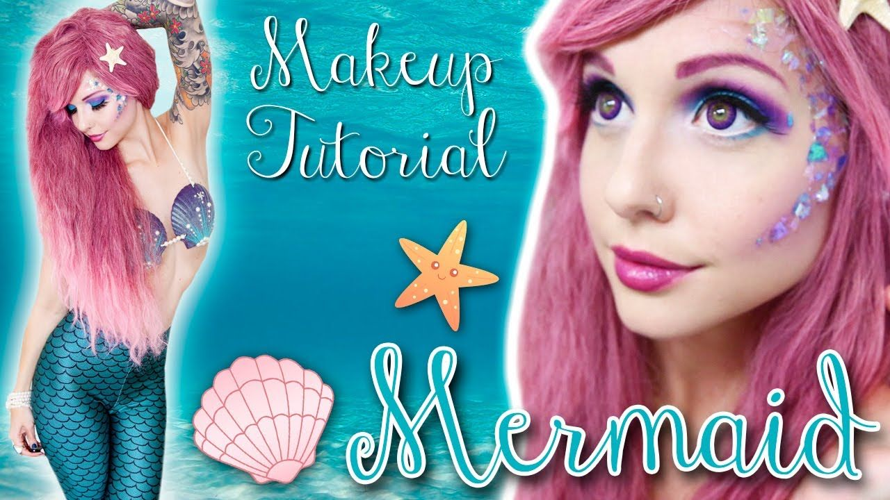 Makeup with emerald green dress  Hi cuties I got many requests for a mermaid tutorial so here it is