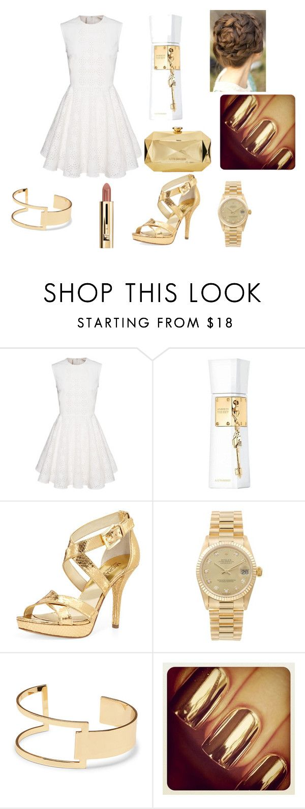 """Untitled #21"" by maya-1999s on Polyvore featuring Justin Bieber, MICHAEL Michael Kors, Rolex, Sole Society and Love Moschino"