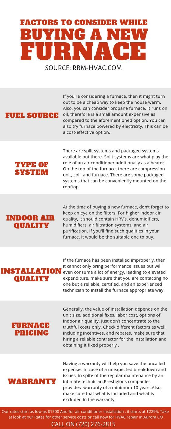 Factors To Consider While Buying A New Furnace furnace