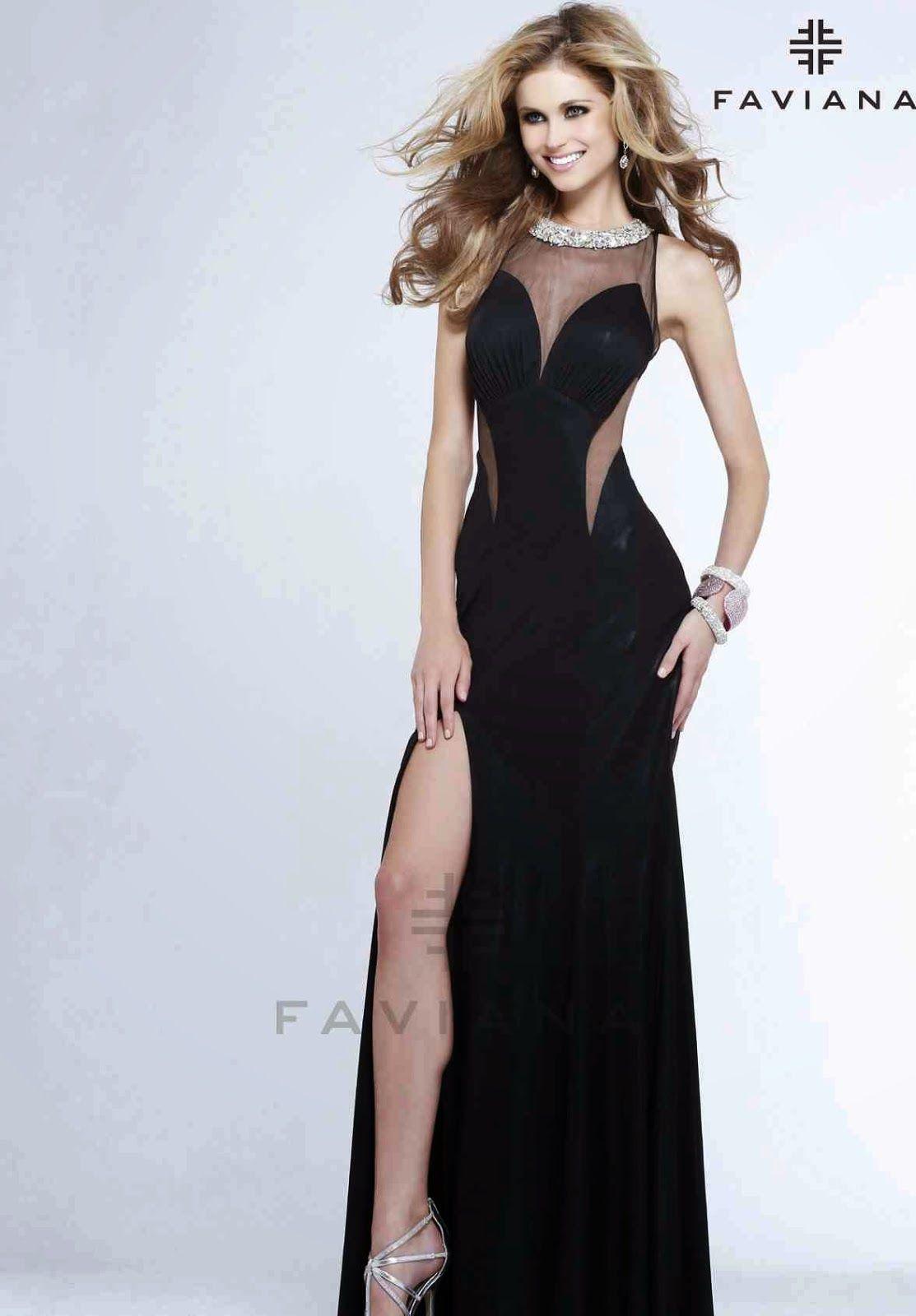 b8b3ef54d Moda para fiesta   Llamativos vestidos elegantes para fiesta ...