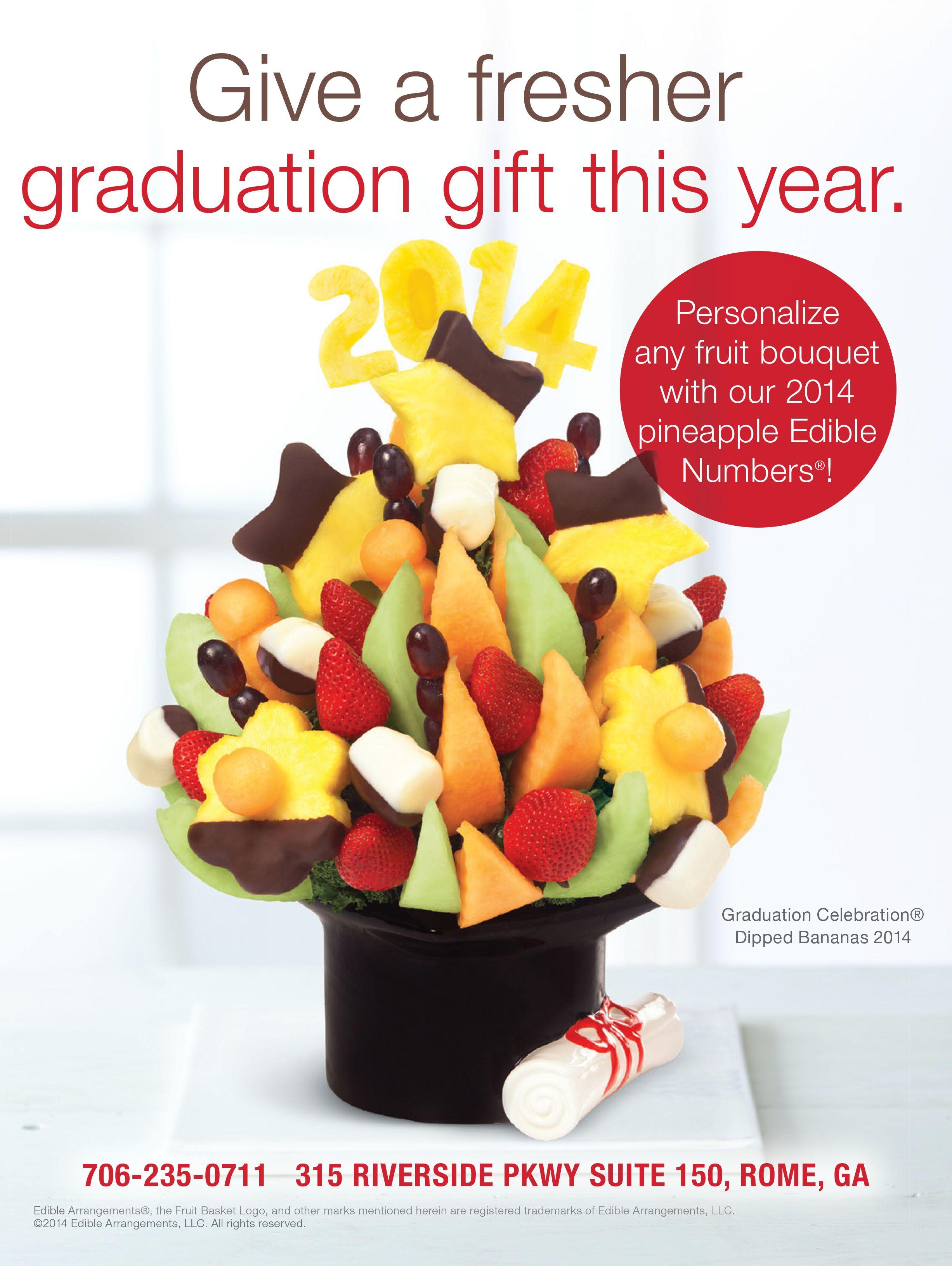 Pin By V3 On Advertising Edible Arrangements Graduation Celebration Banana Dip