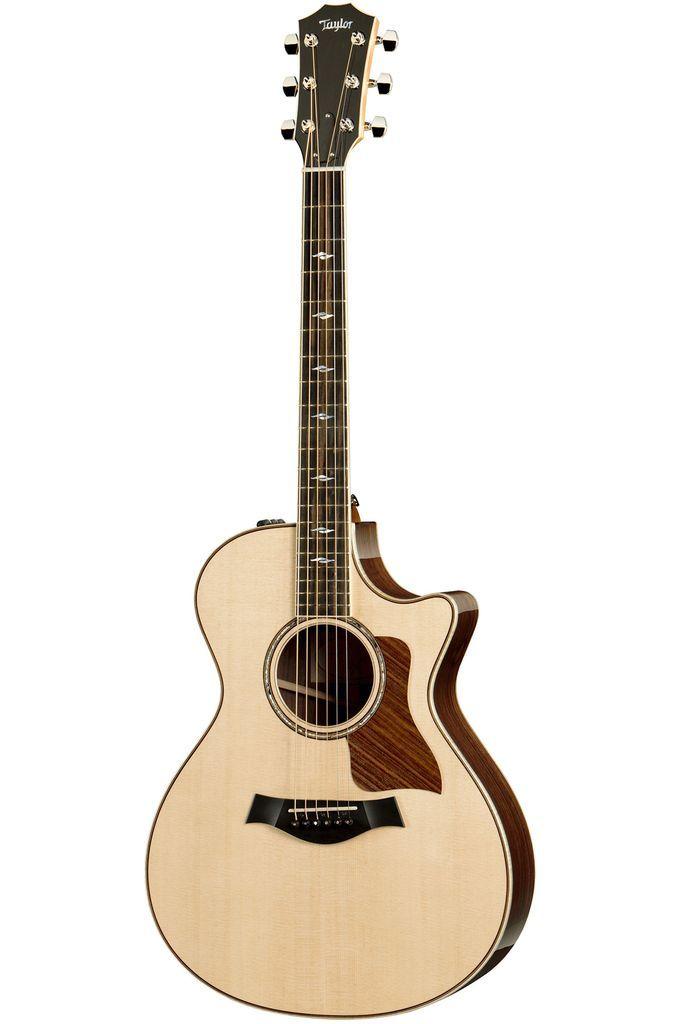 Taylor 812ce Grand Concert Acoustic Electric Guitar With Es2 Taylor Guitars Acoustic Taylor Guitars Guitar
