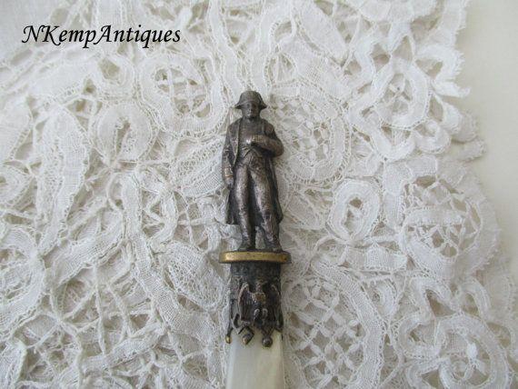 Antique Napoleon letter opener/paper knife 1900 by Nkempantiques