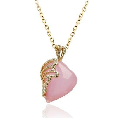 Rose quartz heart pendant necklaces pendants rhinestone crystal rose quartz heart pendant necklaces pendants rhinestone crystal rose quartz heart pendant aloadofball Choice Image