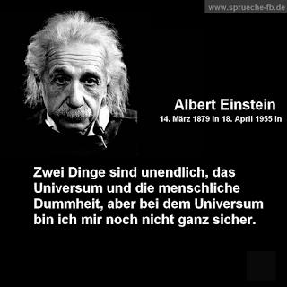 Albert Einstein Sprüche