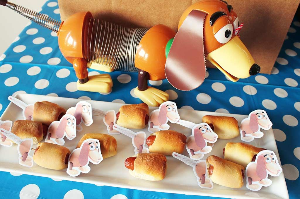 Slinky Dog Hot Dog Printable Toy Story Party Party Hacks Toy