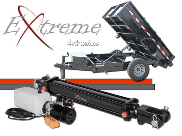 Single Cylinder Dump Trailer Kit | atv in 2019 | Trailer