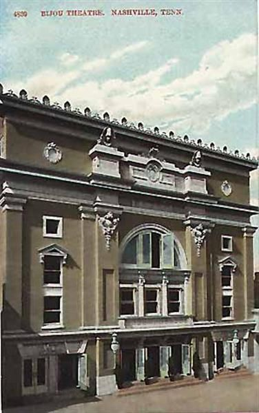 Theater Bijou Theatre Located At 423 Fourth Avenue North In