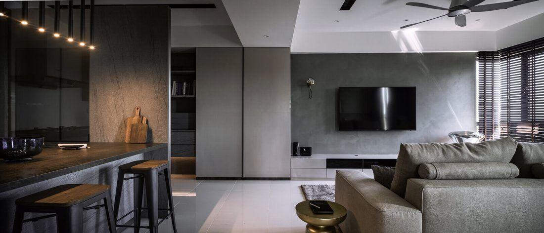 interior design raffel tower penang malaysia living v2 house rh pinterest com