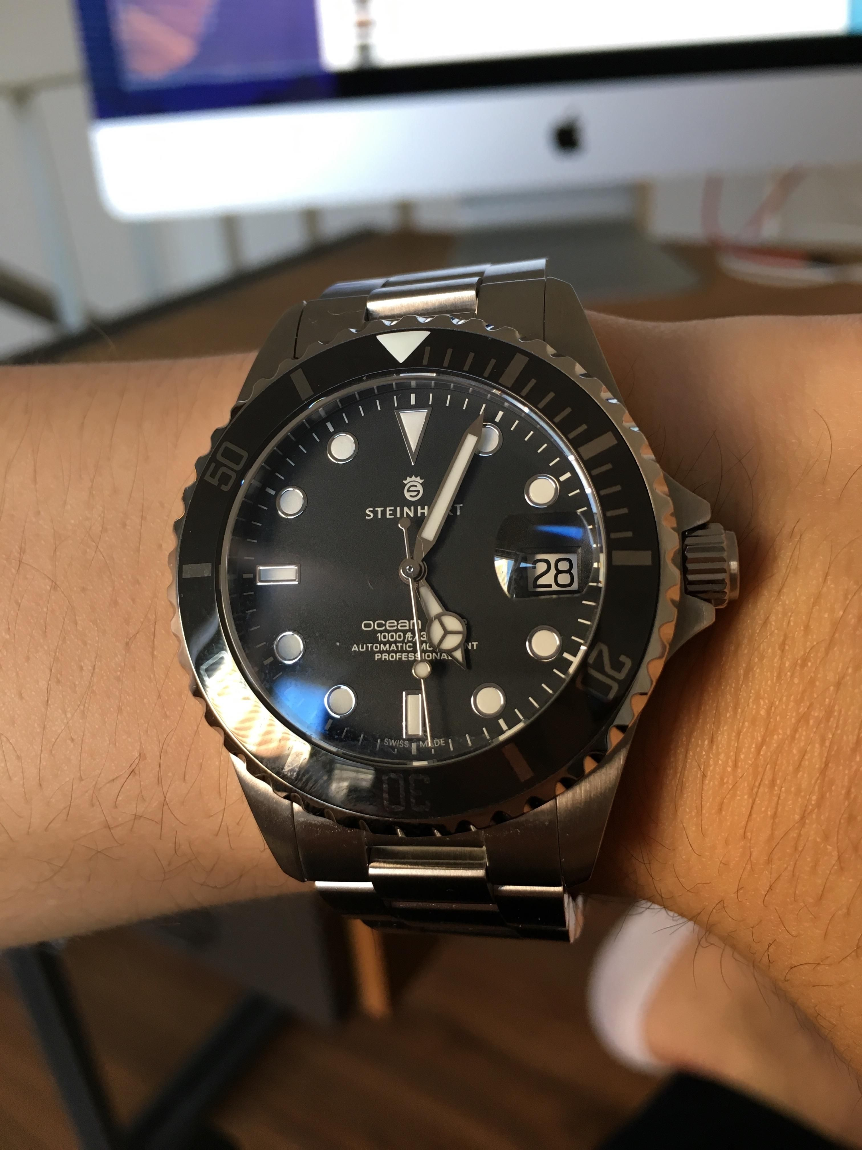Steinhart Ocean One 39 My First Swiss Watch Ever Http
