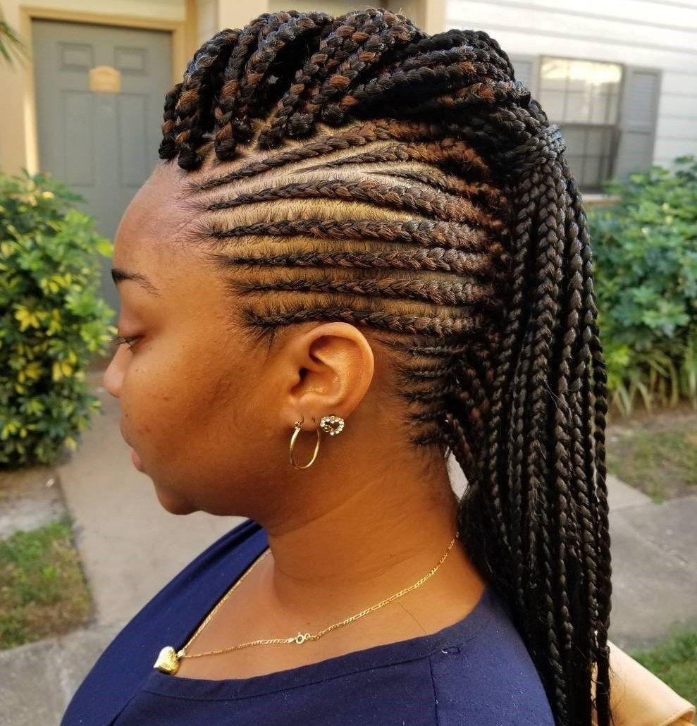 Best Black Braided Hairstyles That Turn Heads Cornrows Mohawks