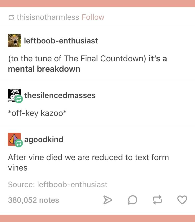 I Think Off Key Kazoo Is A Caption That Will Now Find A Place In Much Of My Life Tumblr Funny Just For Laughs Laugh