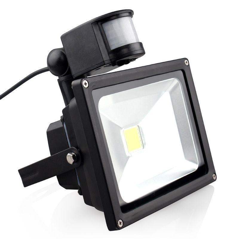 20w Ip65 Ac85 265v Waterproof Pir Motion Sensor Induction Sense Led Refletor Lamp Led Flood Light Spotlight Floodlight Led Flood Lights Flood Lights Led Flood