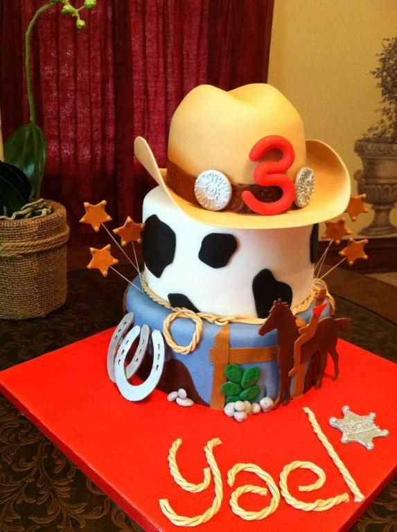 Giddy Up for these Rootin Tootin Cowboy Cake and Cupcake Ideas
