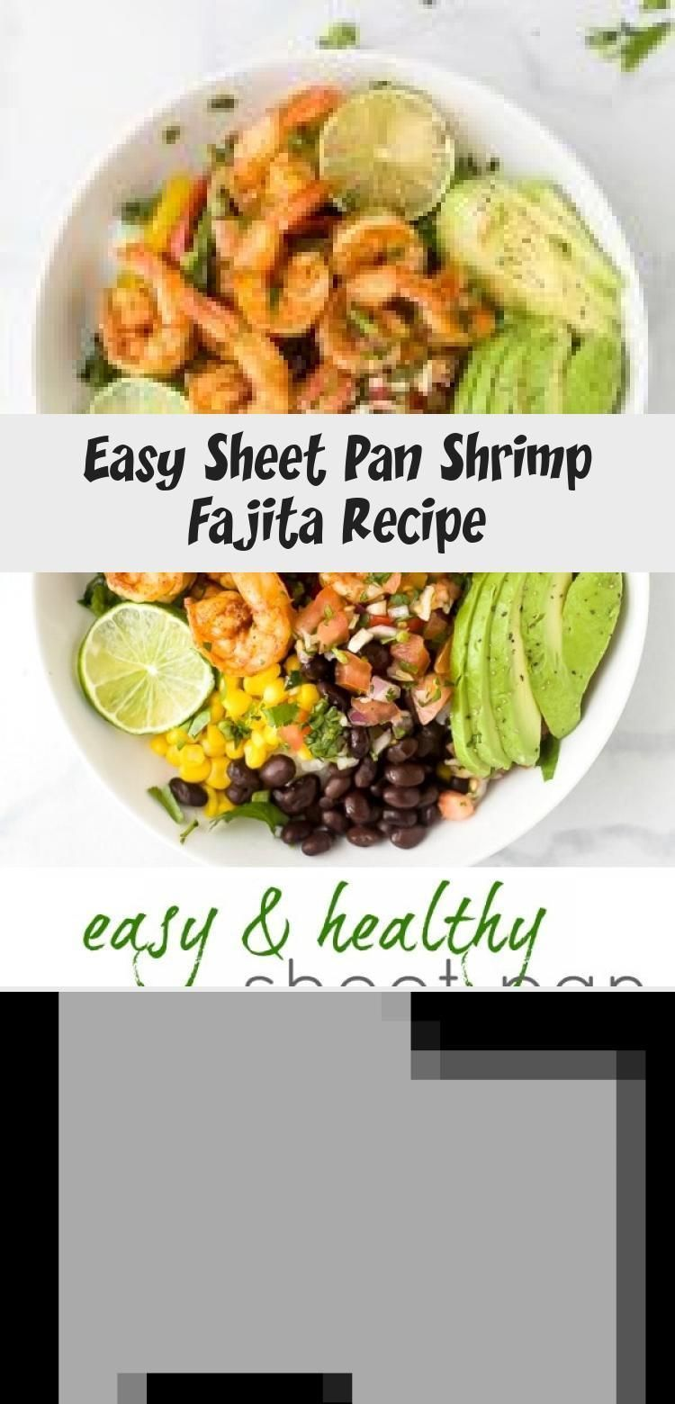 Easy Sheet Pan Shrimp Fajita Recipe #shrimpfajitas A Healthy One Sheet Pan Shrimp Fajita Recipe that has epic flavor and made in 15 minutes! These Paleo Shrimp Fajitas use minimal ingredients and have fast clean up. A dinner time must have! #healthy #light #mexican #bowl #easy #HealthyRecipesMealPrep #HealthyRecipesPescatarian #HealthyRecipesLowCarb #HealthyRecipesPork #HealthyRecipesSnacks #shrimpfajitas Easy Sheet Pan Shrimp Fajita Recipe #shrimpfajitas A Healthy One Sheet Pan Shrimp Fajita Re #shrimpfajitas