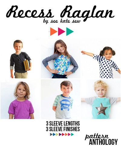 5a4174127 size 18m, 2T, 3T, 4T, 5, 6, 7 and 8 unisex fitted knit raglan tee 3/4 or  short sleeves suitable for confident beginner full color photographs and  detailed ...