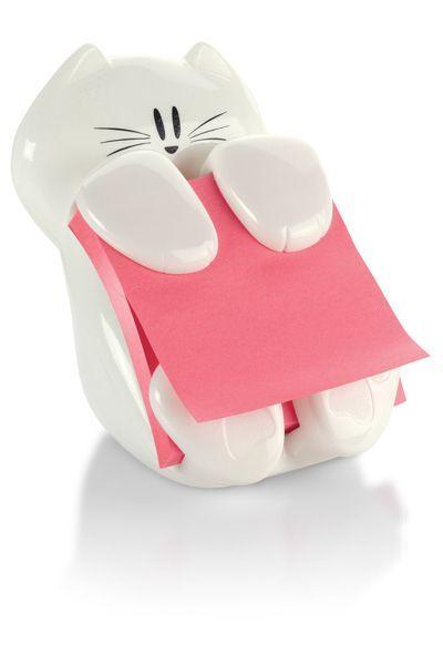 ≧◔◡◔≦ Porta post-it gatuno / Cat post-It holder.