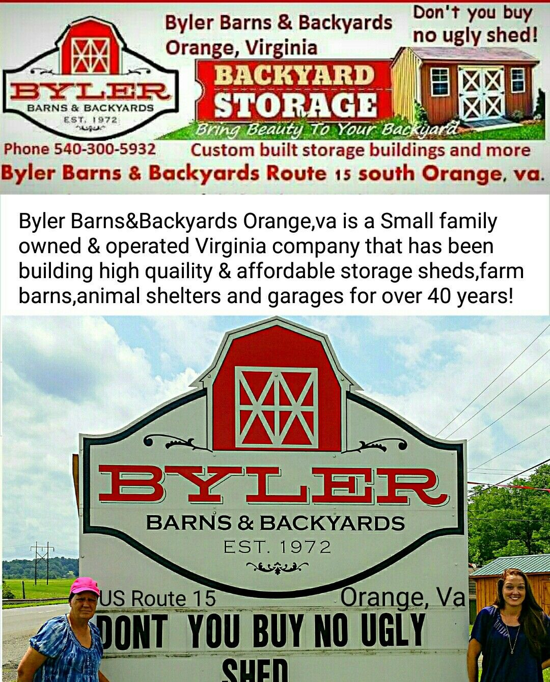 Byler Barns And Backyards In Orange, Va.