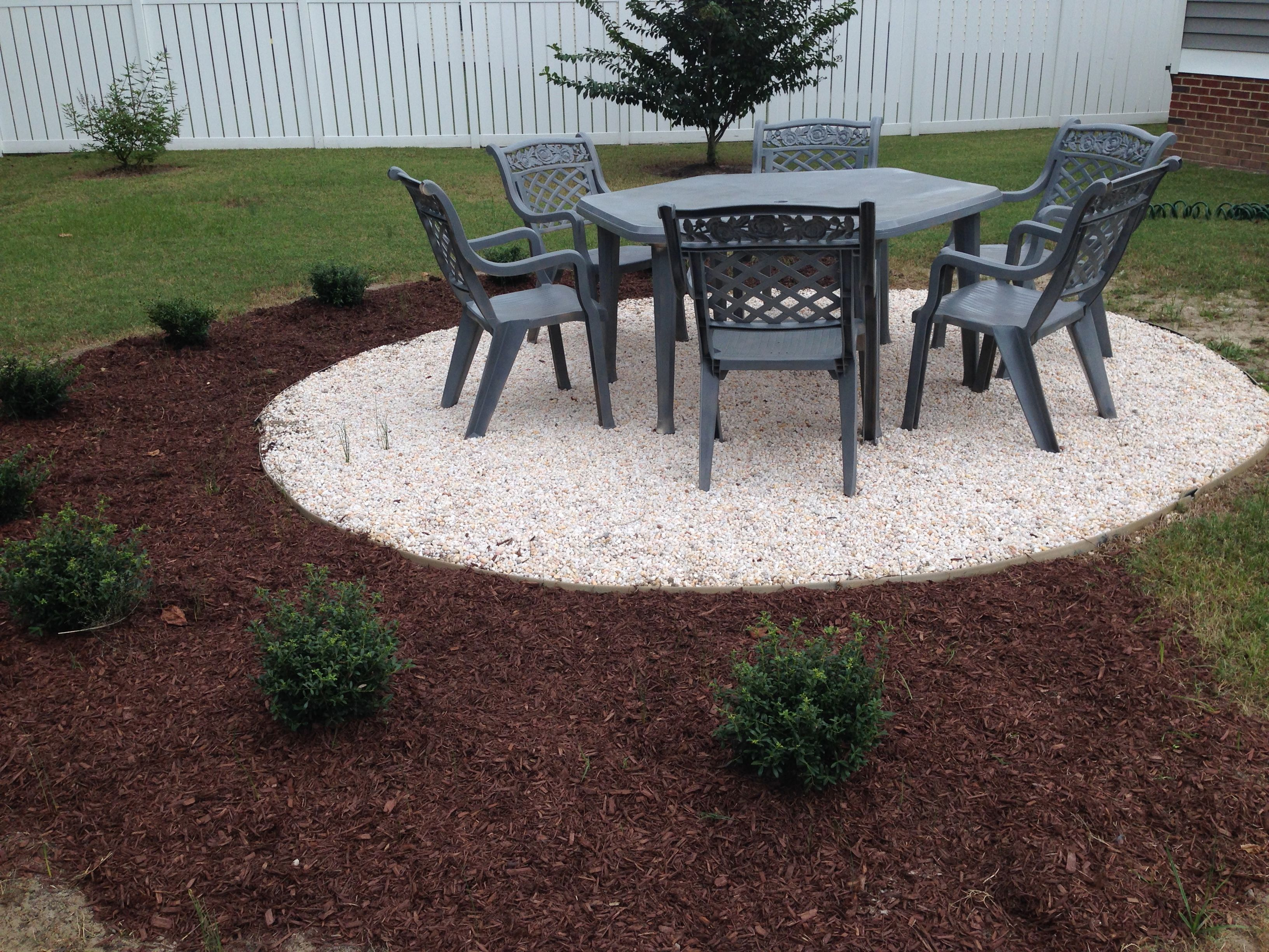 how to make a gravel patio google search gardening fire pit