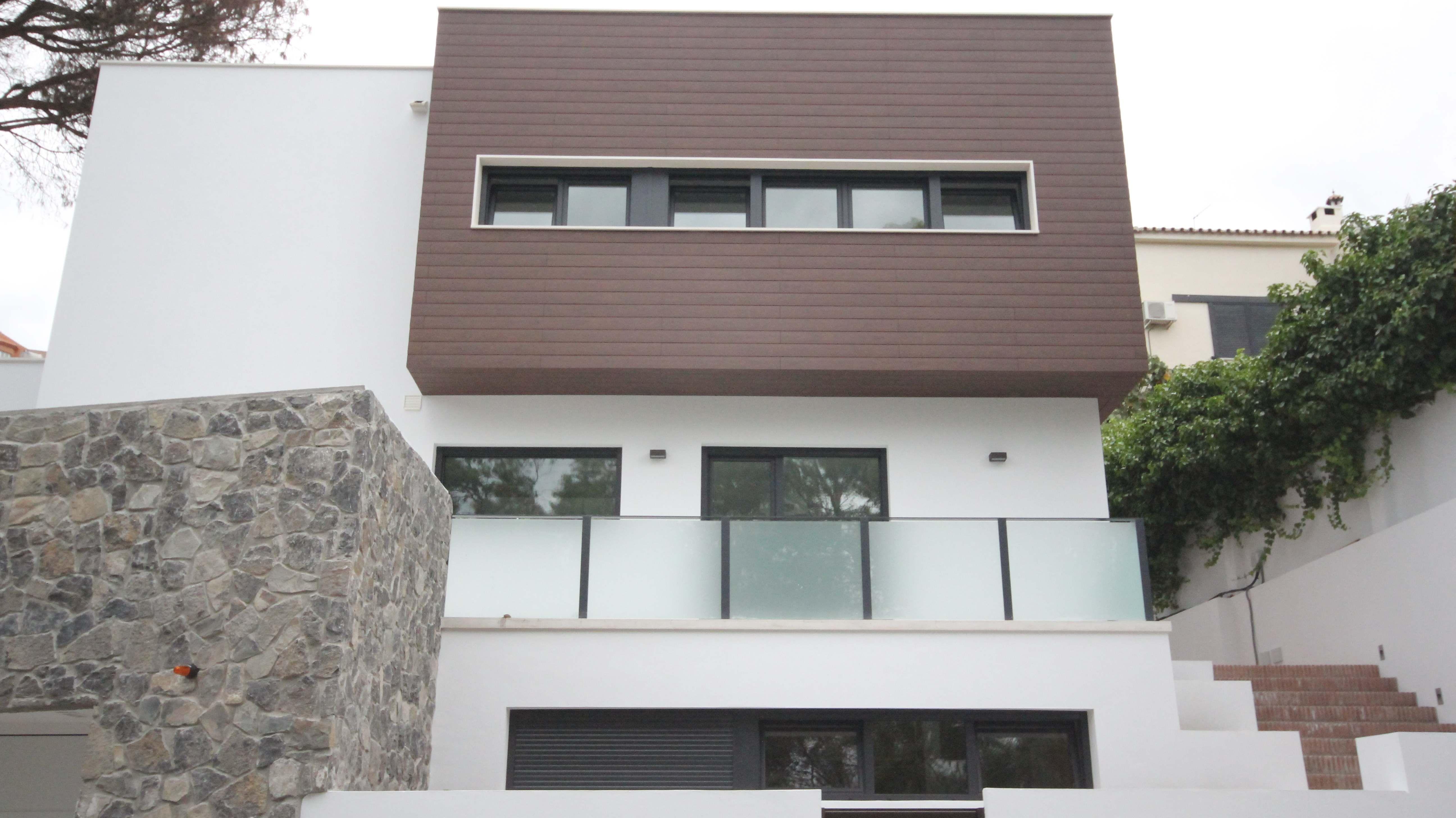 Revestimientos de fachadas buscar con google casas - Revestimiento de fachadas exteriores ...