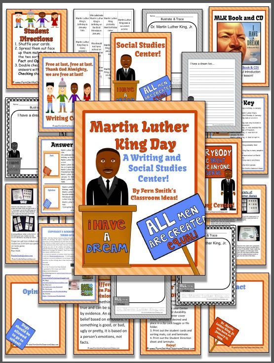 Martin Luther King Jr. Literacy Centers | Martin luther ...