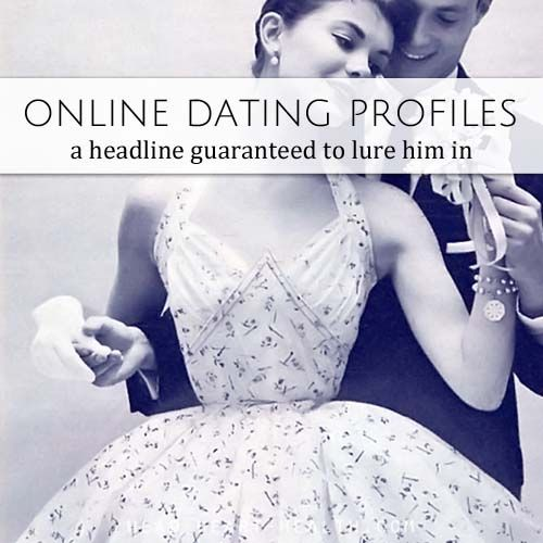 Internet dating and me