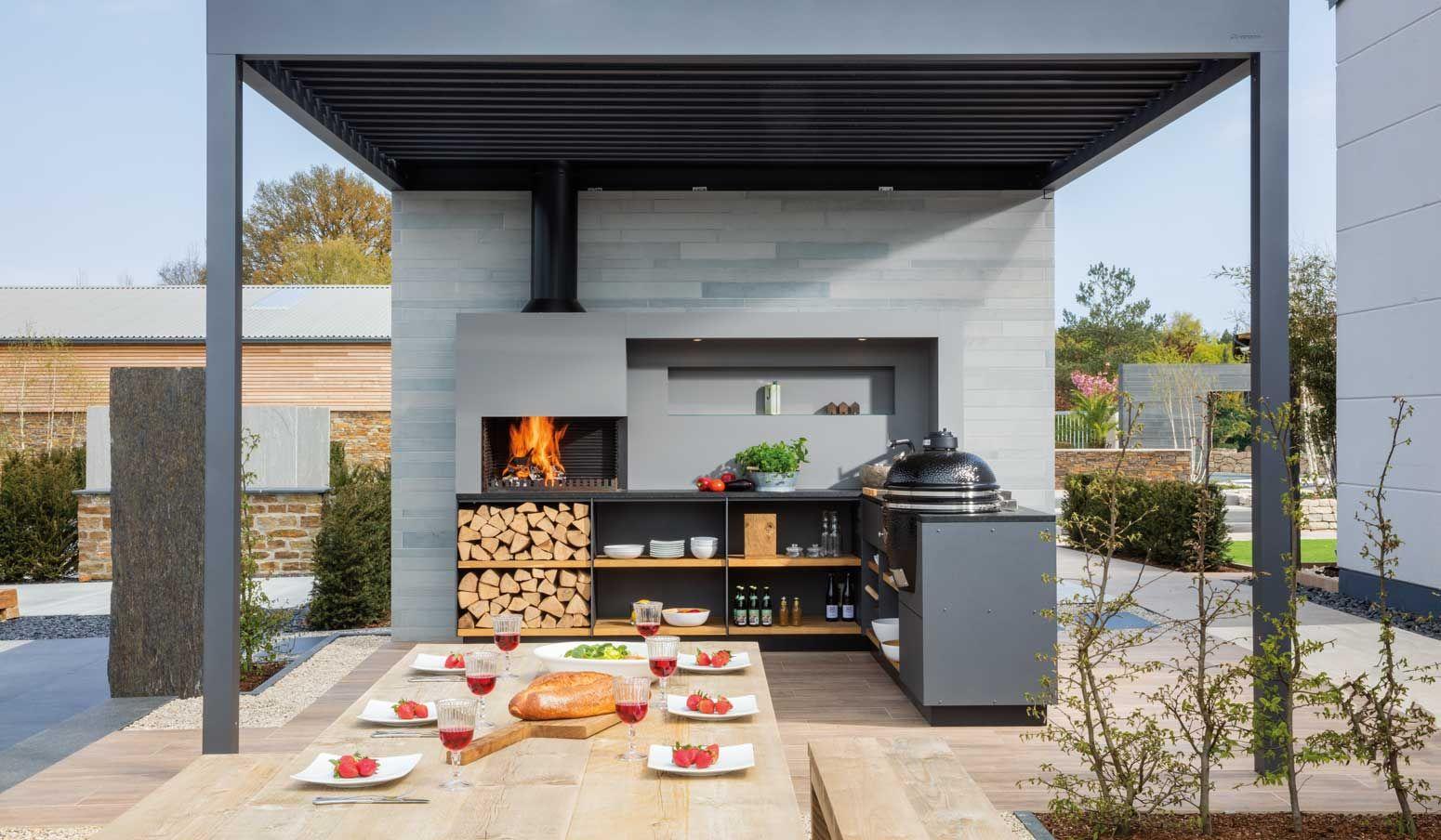 Outdoor Küche Gartenhaus : Gartenküche selber bauen anleitung und tipps