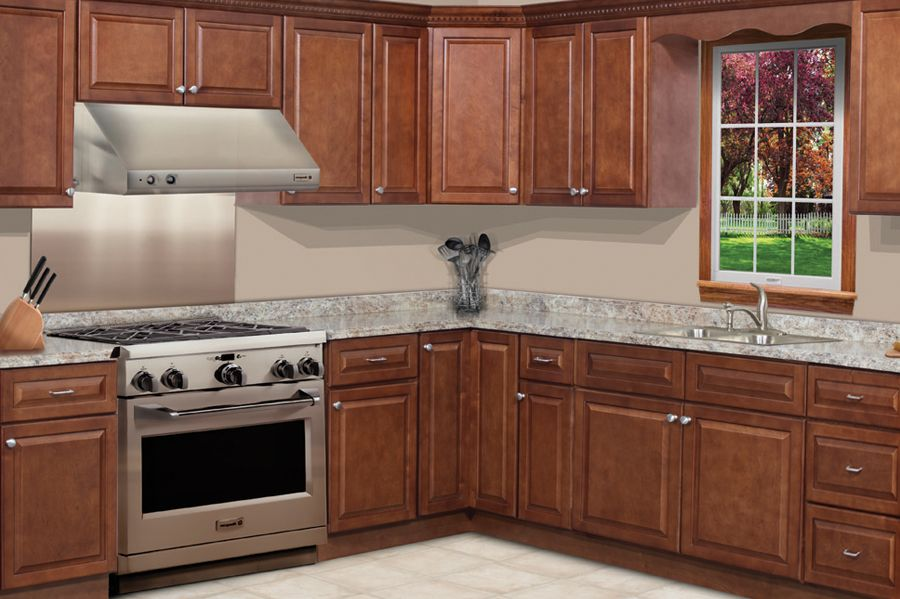 Best Charleston Traditional Cognac Kitchen Cabinets Kitchen 400 x 300