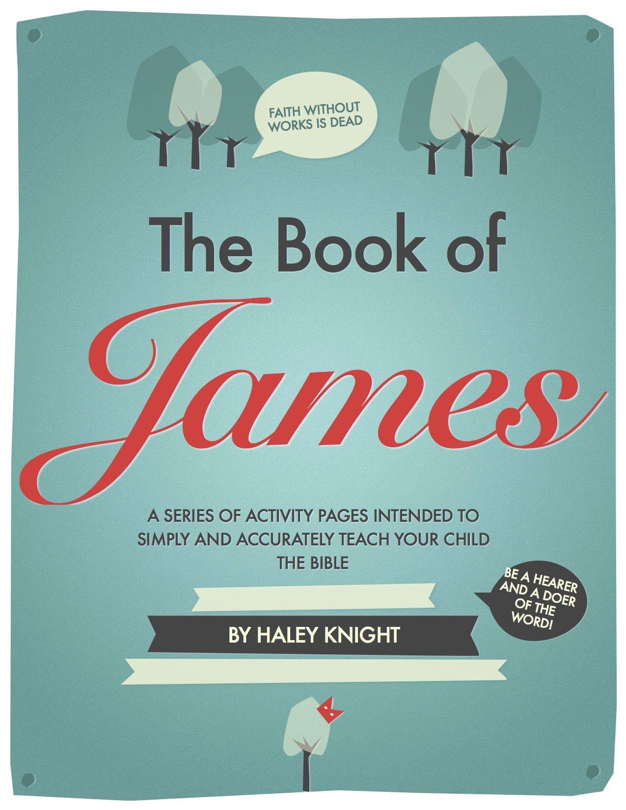Children S Bible Study Digital File Book Of James