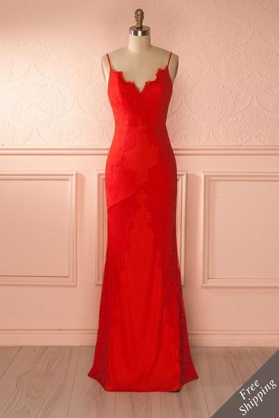 Robe rouge 1861