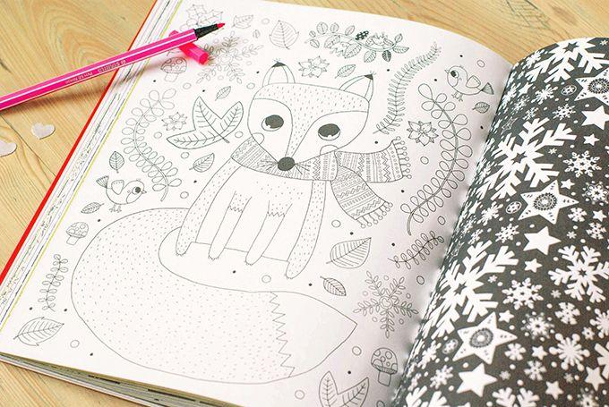 Stephanie Rousseau - Coloriages de Noel | Little girl\'s books ...