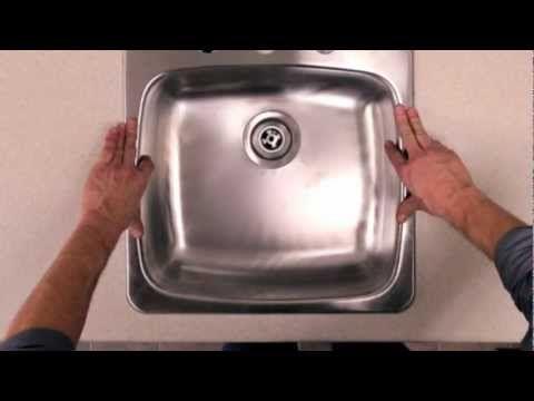 RONA - Comment poser un évier de cuisine - YouTube bat M - comment poser un evier de cuisine