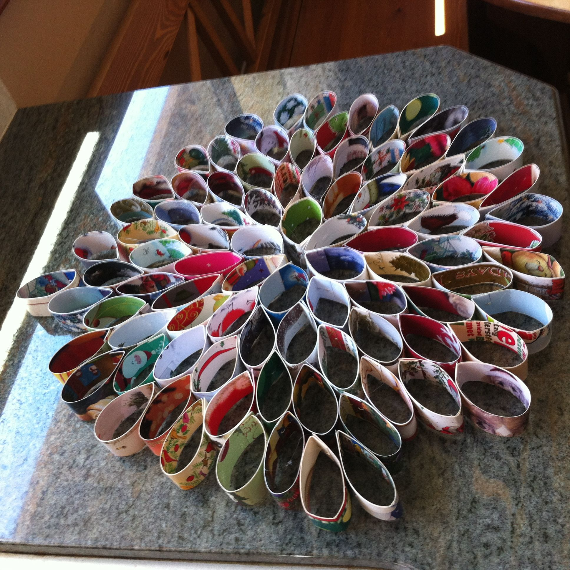 Crafts Using Old Christmas Cards